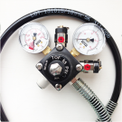 CO2 Primary Regulator, Hose + Bracket