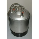 9 Litre Stainless Steel Jolly (Cornelius Style Keg) Product Tank c/w Lid & Handle