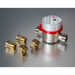 "Water Meter 3/4 BSPM c/w 1/2"" BSPM Fitting Kit"