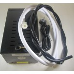 Abbeychart Black Metal Boxed Booster Unit - This comes with a complete hose fitting kit.