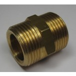 "3/4"" Male x 3/4"" Male Brass Fitting"