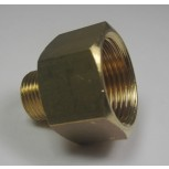 "3/4"" BSPF x 3/8"" BSPM Brass Fitting"