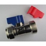 "15mm Compression x 3/4"" BSP Male Thread with Shut Off & Non-Return Valve"