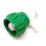 "USA ONLY - Encore Bag in Box Connector Green, (BIB) 3/8"" Barb."