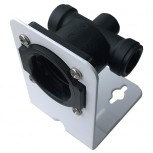 iX Head Assy 3/8 BSP F inc Wall Bracket