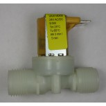 "Single Solenoid Valve 180degree, 24v Dual Rated, 1/2""BSPM"