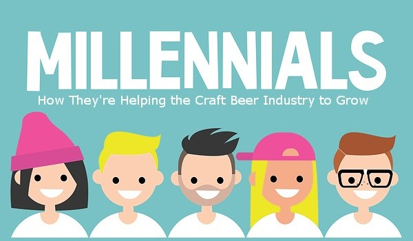 Millennials - How They're Helping the Craft Beer Industry to Grow